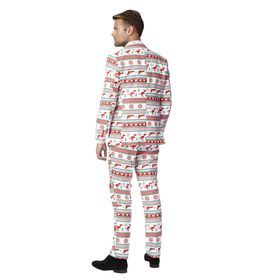 Costume Mr. Gangster de Noël homme Opposuits